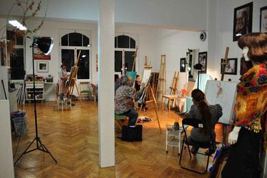 Kunstschule Neustadt, Gegenständliches Zeichnen und Malen