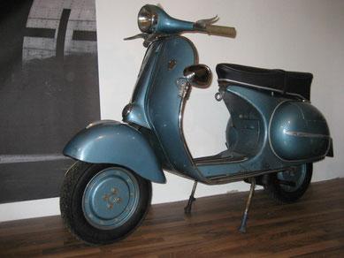 Vespa T3 Augsburg Originalzustand von 1958