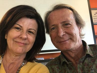 Elisabeth Molina & Gilles Fournil coanimateurs de l'Olfactocoaching