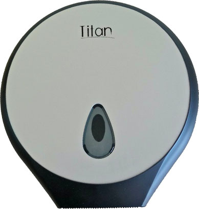 8002LB Dispensador de Papel Higiénico Luxury Black. Medidas: 271 X 130 X 281 mm