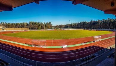 2 Rasenplätze, 1 Kunstrasenplatz im SWH-Waldstadion