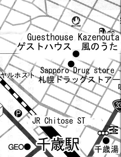 GuestHouse Kazenouta Map