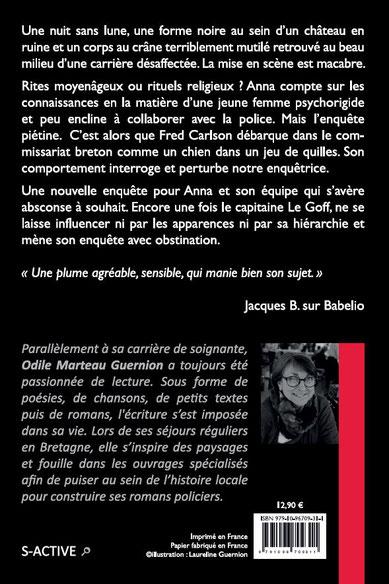 Noir Fantôme Odile Marteau Guernion éditions S-Active