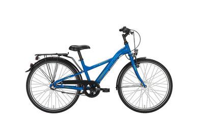 Bild zeigt Fahrrad Noxon Boys ND bioblau matt, Zweirad Kehlenbeck, Delmenhorst