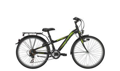 Bild zeigt Fahrrad Noxon Boys schwarz matt, Zweirad Kehlenbeck, Delmenhorst