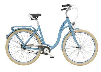 Bild zeigt Fahrrad Kettler Julia Balloon Riverside Blue, Zweirad Kehlenbeck, Delmenhorst