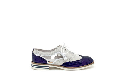 CHARLOTTE11 coloris Navy/Metallic