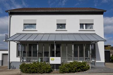 Praxisgebäude Physiotherapie Hogrebe in Northeim