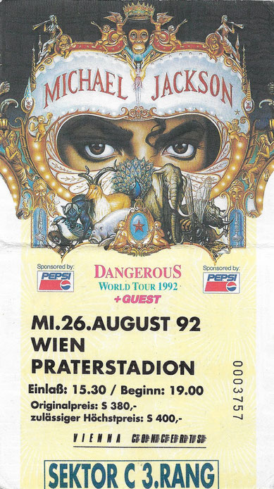 Michael Jackson Wien Konzert