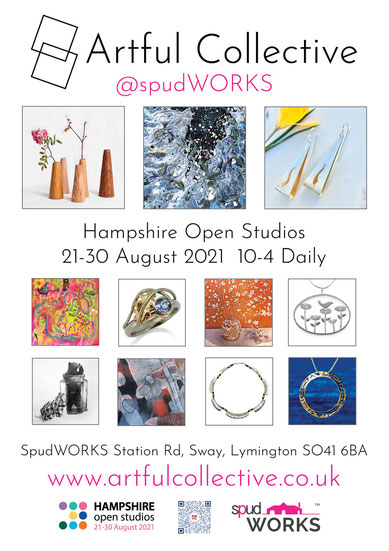 Artful Collective at SpudWorks for Hampshire Open Studios