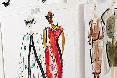 Modedesign Events für Teenager Mode zeichnen lernen Workshop in Berlin München Hamburg Leipzig oder Köln