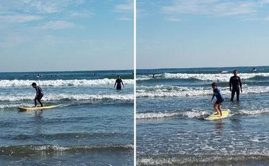 ちびっ子達もサーフィンしたよ~ KDちゃん写真もらいました~
