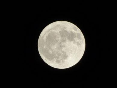 満月もパワーがありました!