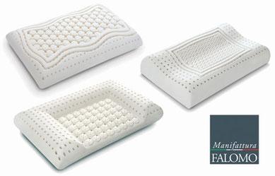 cuscino lattice saponetta cervicale ortopedico maxi unico manifattura falomo