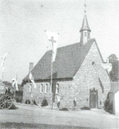 Einweihung der Kapelle 1947