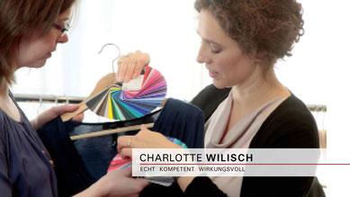 Charlotte Wilisch - Nonverbales Selbstmarketing - Strategische Farb- und Stilberatung mit Garderobenanalyse für Männer und Frauen - Vorträge | Seminare | Beratung