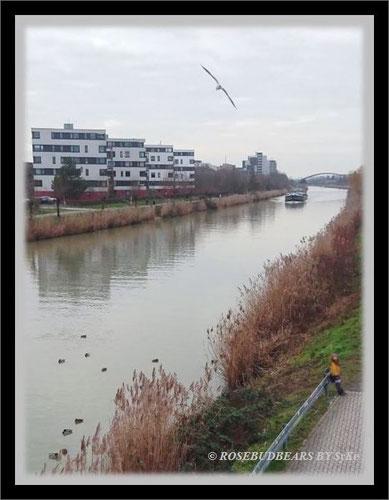 Hannover Mittellandkanal Bothfelder Bogen