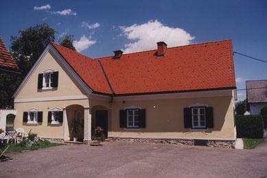 Historische Fassade renoviert