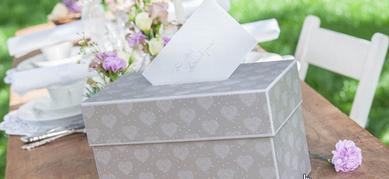 Boxen für Geldgeschenke zur Hochzeit
