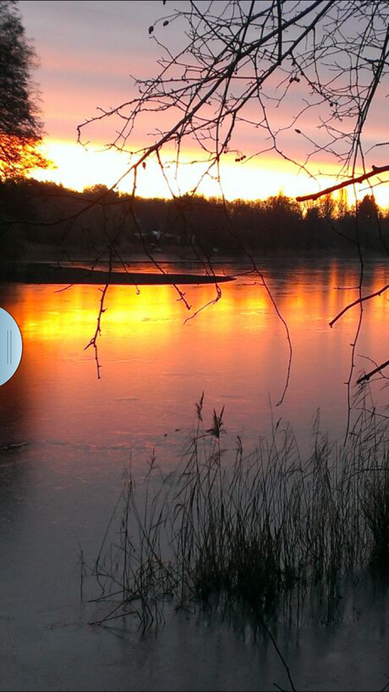 Sonnenaufgang im Winter an der Hundekehle!