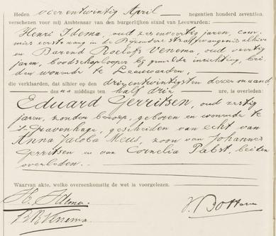 Overlijdensregister 1917, Bijzondere Strafgevangenis Leeuwarden
