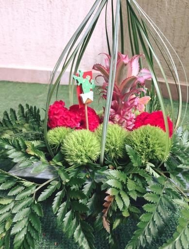 """Atelier """"art floral"""" du 20 juillet 2017"""