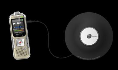 Klik op: Philips voicetracer met vlakmicrofoon