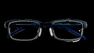 Brille von vorne geschlossen