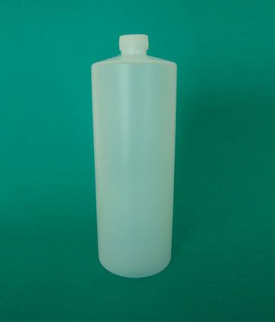 BOTELLA  ALCOHOLERA  PEAD  NATURAL  1,000  ML  R-24 MODELO: MC - 0022
