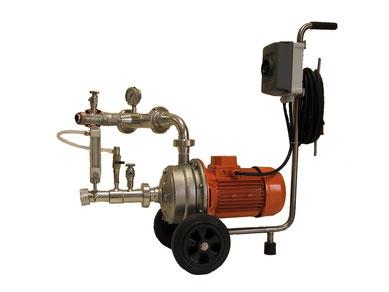 Pumpe nicht im Lieferumfang enthalten