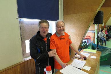 Ein starkes Team: Günter Donath (rechts) und Heinz-Peter Kausche