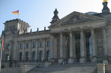 Der Bundestag in Berlin