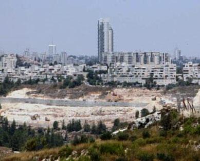 Nye bosætterenheder i det palæstinensiske Østjerusalem