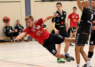 Kreisspieler Jannes Wernicke, hier bei einem Heimspiel aus der Vorsaison, war mit sechs Toren bester Torschütze des MBSV. Foto: Jörgen Heller