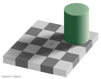 Schachbrettversuch von Edward H. Adelson