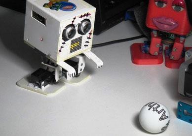 "Roboter von ""Lets make Robots"""