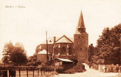 Eglise Nandrin après 1930