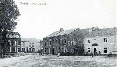 Place du Baty début 1900
