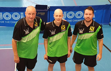 Tomas Janci, Dominik Tarmann und Martin Kinslechner gehen in Sierndorf auf Punktejagd.
