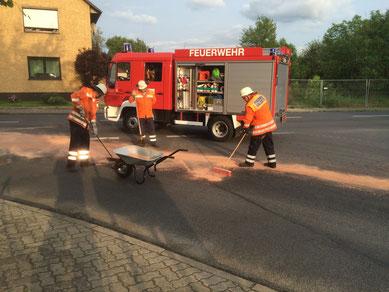 Feuerwehr Bleckenstedt Salzgitter Einsatz Ölspur