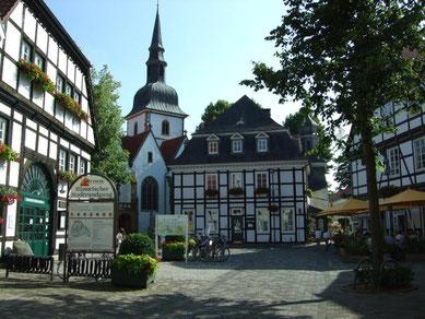 Im historischen Stadtkern von Rietberg © Stadt Rietberg