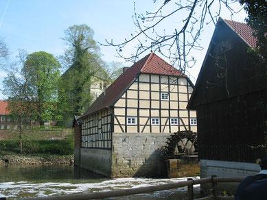 Schlossmühle Rheda © Stadt Rheda-Wiedenbrück