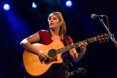 Die Engadiner Sängerin Martina Linn.