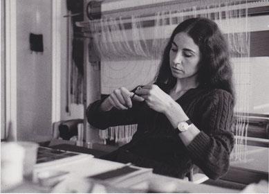 Beatrix Sitter-Liver, um 1974 (Bild Mario Tschabold, Steffisburg).