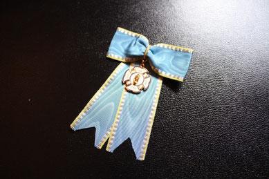 Sachsen St.-Anna-Orden Damenschleife Damendekoration Replik