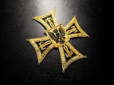 Deutscher Orden Kreuz des Hoch- und Deutschmeisters Hochmeisterkreuz gestickter Bruststern