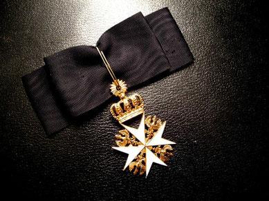 Preußen Johanniterorden Damendekoration Damenschleife Kaiserin Königin