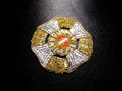 Österreich-Ungarn Militär-Maria-Theresen-Orden Großkreuz gestickter Bruststern Replik
