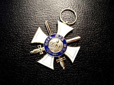 Preussen Königlicher Kronen-Orden III. Klasse mit Schwertern Replik