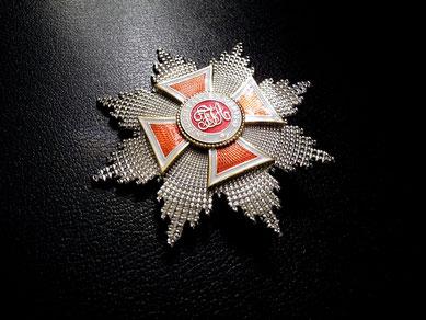 Österreich-Ungarn Leopold-Orden Großkreuz Bruststern Replik